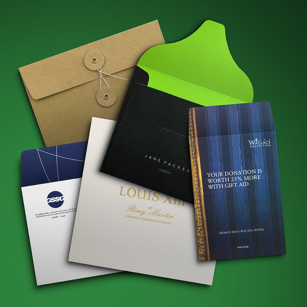 Custom Envelopes Gallery