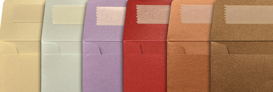 Pearlescent Envelopes