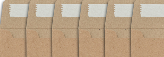 Vintage Manilla Envelopes