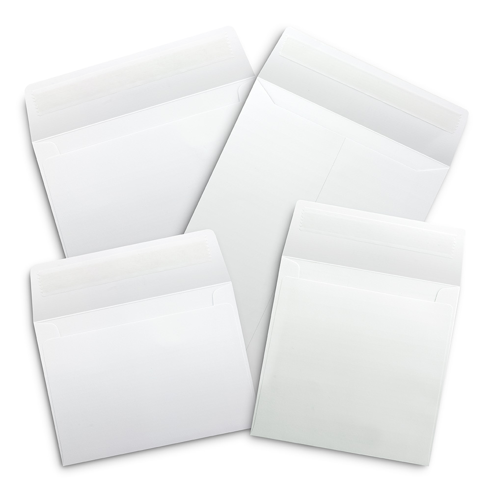 300gsm White Envelopes