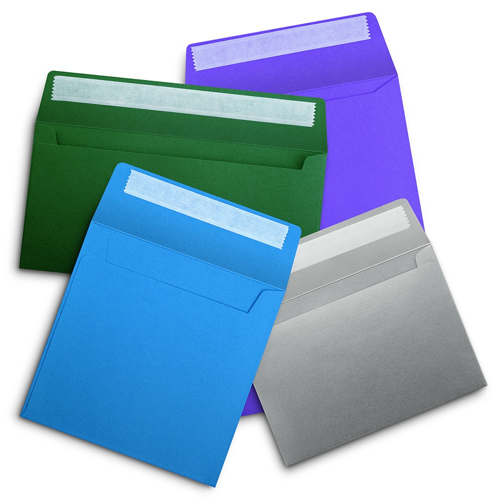 Stock Coloured Envelopes