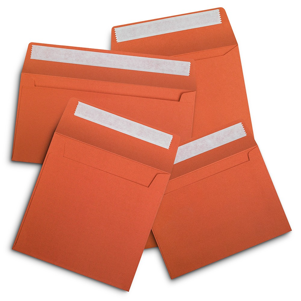 Orange & Yellow Envelopes